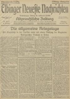 Elbinger Neueste Nachrichten, Nr. 24 Montag 25 Januar 1915 67. Jahrgang