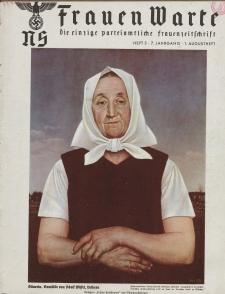 N.S. Frauen-Warte : Zeitschrift der N. S. Frauenschaft, 7.Jahrgang 1938, 1. August, H. 3