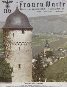 N.S. Frauen-Warte : Zeitschrift der N. S. Frauenschaft, 7.Jahrgang 1938, 2. Oktober, H. 8