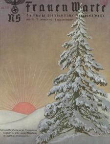 N.S. Frauen-Warte : Zeitschrift der N. S. Frauenschaft, 7.Jahrgang 1938, 1. Dezember, H. 12