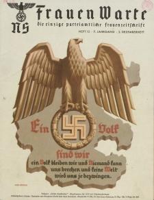 N.S. Frauen-Warte : Zeitschrift der N. S. Frauenschaft, 7.Jahrgang 1938, 2. Dezember, H. 13