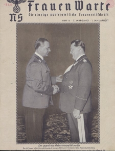 N.S. Frauen-Warte : Zeitschrift der N. S. Frauenschaft, 7.Jahrgang, 1. Januar 1939, H. 14