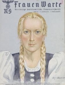 N.S. Frauen-Warte : Zeitschrift der N. S. Frauenschaft, 7.Jahrgang, 1. Februar 1939, H. 16