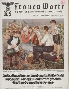 N.S. Frauen-Warte : Zeitschrift der N. S. Frauenschaft, 7.Jahrgang, 2. März 1939, H. 19