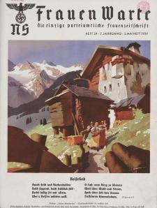 N.S. Frauen-Warte : Zeitschrift der N. S. Frauenschaft, 7.Jahrgang, 2. Mai 1939, H. 24
