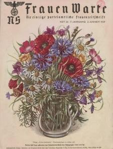 N.S. Frauen-Warte : Zeitschrift der N. S. Frauenschaft, 7.Jahrgang, 2. Juni 1939, H. 26