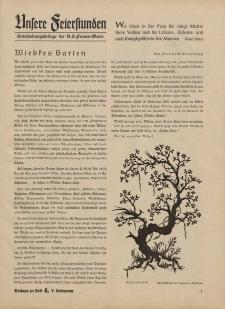 N.S. Frauen-Warte : Zeitschrift der N. S. Frauenschaft (Ansere Feierstunden : Beilage zu Heft 4)