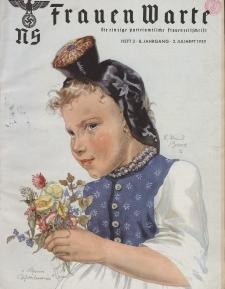 N.S. Frauen-Warte : Zeitschrift der N. S. Frauenschaft, 8.Jahrgang, 2. Juli 1939, H. 2