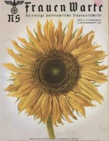 N.S. Frauen-Warte : Zeitschrift der N. S. Frauenschaft, 8.Jahrgang, 2. September 1939, H. 6