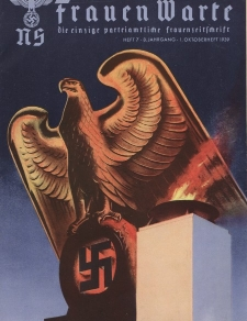 N.S. Frauen-Warte : Zeitschrift der N. S. Frauenschaft, 8.Jahrgang, 1. Oktober 1939, H. 7