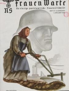 N.S. Frauen-Warte : Zeitschrift der N. S. Frauenschaft, 8.Jahrgang, 1. April 1940, H. 19