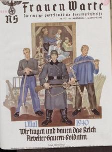 N.S. Frauen-Warte : Zeitschrift der N. S. Frauenschaft, 8.Jahrgang, 1. Mai 1940, H. 21