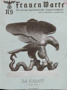 N.S. Frauen-Warte : Zeitschrift der N. S. Frauenschaft, 9.Jahrgang, 1. Juli 1940, H. 1