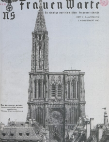 N.S. Frauen-Warte : Zeitschrift der N. S. Frauenschaft, 9.Jahrgang, 2. August 1940, H. 4