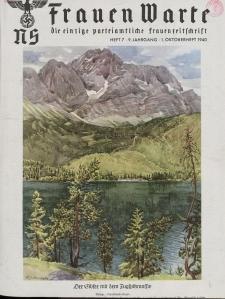 N.S. Frauen-Warte : Zeitschrift der N. S. Frauenschaft, 9.Jahrgang, 1. Oktober 1940, H. 7