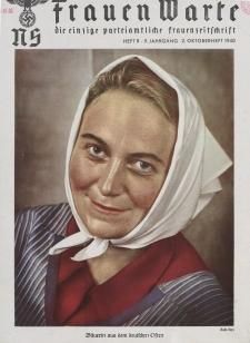 N.S. Frauen-Warte : Zeitschrift der N. S. Frauenschaft, 9.Jahrgang, 2. Oktober 1940, H. 8