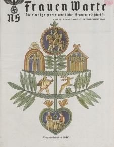 N.S. Frauen-Warte : Zeitschrift der N. S. Frauenschaft, 9.Jahrgang, 2. Dezember 1940, H. 12
