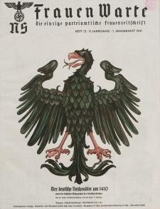 N.S. Frauen-Warte : Zeitschrift der N. S. Frauenschaft, 9.Jahrgang, 1. Januar 1941, H. 13