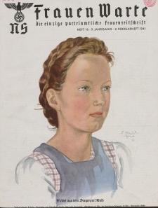 N.S. Frauen-Warte : Zeitschrift der N. S. Frauenschaft, 9.Jahrgang, 2. Februar 1941, H. 16