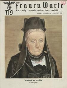 N.S. Frauen-Warte : Zeitschrift der N. S. Frauenschaft, 9.Jahrgang, 2. Mai 1941, H. 22
