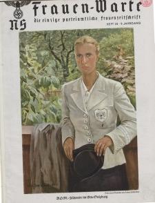 N.S. Frauen-Warte : Zeitschrift der N. S. Frauenschaft, 9.Jahrgang, 1941, H. 24