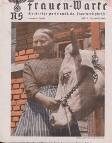 N.S. Frauen-Warte : Zeitschrift der N. S. Frauenschaft, 10.Jahrgang 1942, H. 7