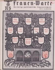 N.S. Frauen-Warte : Zeitschrift der N. S. Frauenschaft, 10.Jahrgang 1942, H. 9