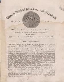 Globus. Illustrierte Zeitschrift für Länder...Bd. XXII, Nr.16, Oktober 1872