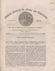Globus. Illustrierte Zeitschrift für Länder...Bd. XXII, Nr.23, Dezember 1872