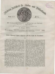 Globus. Illustrierte Zeitschrift für Länder...Bd. XLVI, Nr.7, 1884