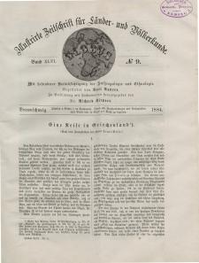 Globus. Illustrierte Zeitschrift für Länder...Bd. XLVI, Nr.9, 1884