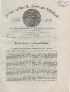 Globus. Illustrierte Zeitschrift für Länder...Bd. XLVI, Nr.14, 1884