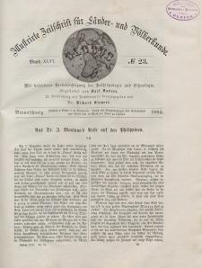 Globus. Illustrierte Zeitschrift für Länder...Bd. XLVI, Nr.23, 1884