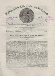 Globus. Illustrierte Zeitschrift für Länder...Bd. XLVIII, Nr.2, 1885