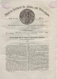 Globus. Illustrierte Zeitschrift für Länder...Bd. XLVIII, Nr.3, 1885