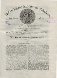 Globus. Illustrierte Zeitschrift für Länder...Bd. XLVIII, Nr.4, 1885