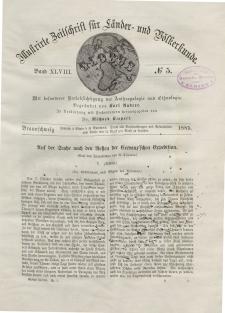 Globus. Illustrierte Zeitschrift für Länder...Bd. XLVIII, Nr.5, 1885