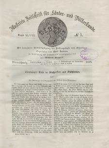 Globus. Illustrierte Zeitschrift für Länder...Bd. XLVIII, Nr.7, 1885