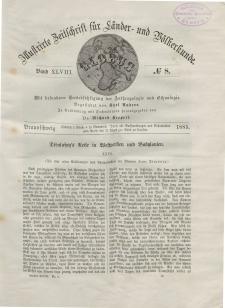 Globus. Illustrierte Zeitschrift für Länder...Bd. XLVIII, Nr.8, 1885