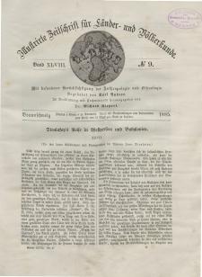 Globus. Illustrierte Zeitschrift für Länder...Bd. XLVIII, Nr.9, 1885