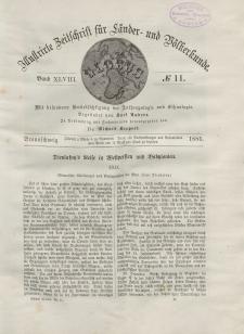Globus. Illustrierte Zeitschrift für Länder...Bd. XLVIII, Nr.11, 1885