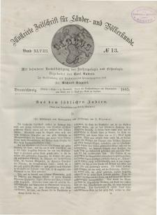 Globus. Illustrierte Zeitschrift für Länder...Bd. XLVIII, Nr.13, 1885