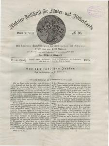 Globus. Illustrierte Zeitschrift für Länder...Bd. XLVIII, Nr.16, 1885
