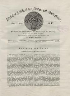 Globus. Illustrierte Zeitschrift für Länder...Bd. XLVIII, Nr.17, 1885