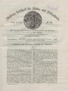 Globus. Illustrierte Zeitschrift für Länder...Bd. XLVIII, Nr.19, 1885