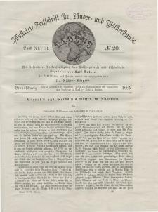 Globus. Illustrierte Zeitschrift für Länder...Bd. XLVIII, Nr.20, 1885