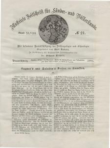 Globus. Illustrierte Zeitschrift für Länder...Bd. XLVIII, Nr.21, 1885