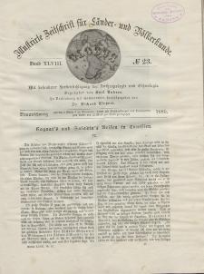 Globus. Illustrierte Zeitschrift für Länder...Bd. XLVIII, Nr.23, 1885