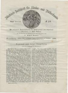 Globus. Illustrierte Zeitschrift für Länder...Bd. XLVIII, Nr.24, 1885