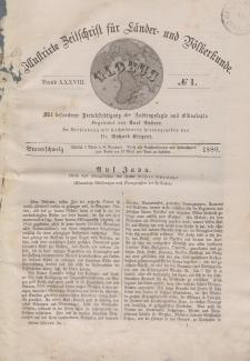 Globus. Illustrierte Zeitschrift für Länder...Bd. XXXVIII, Nr.1, 1880